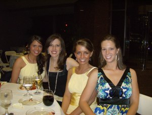 Mary Claire, Jen, Leah and Jenny