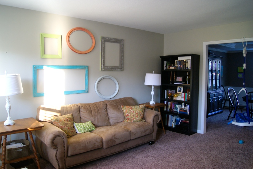 A little glare showing we get lots of natural light!